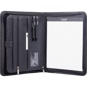 Bond Street Zippered Tablet Padfolio WRC1517BLK BNDWRC1517BLK