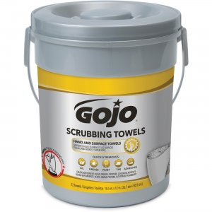 GOJO Scrubbing Wipes 639606CT GOJ639606CT