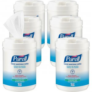 PURELL Alcohol Hand Sanitizing Wipes 903106CT GOJ903106CT