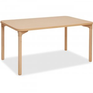 "ECR4KIDS 26"" Leg Play/Work Wood Table 14510WG26 ECR14510WG26"