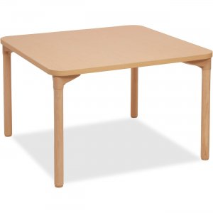 "ECR4KIDS 26"" Leg Square Wood Table 14523WG26 ECR14523WG26"