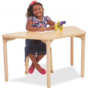 "ECR4KIDS 26"" Leg Play/Work Wood Table 14526WG26 ECR14526WG26"