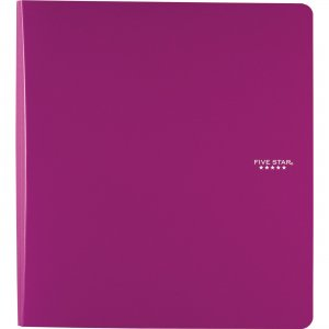 "Five Star 1"" Plastic Binder 38906 MEA38906"