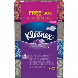 Kleenex Ultra Soft Facial Tissue 44596 KCC44596