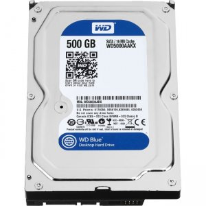 Western Digital - IMSourcing Certified Pre-Owned Blue 500 GB 3.5-inch PC Hard Drive - Refurbished WD5000AAKX-RF WD5000AAKX