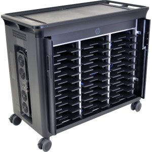 HPE - IMSourcing Certified Pre-Owned 30 Notebook Managed Charging Cart - Refurbished QL490AA#ABA-RF