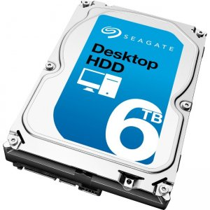 Seagate Desktop HDD 6TB Hard Drive - Refurbished ST6000DM001-RF ST6000DM001
