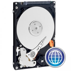Western Digital - IMSourcing Certified Pre-Owned Scorpio Blue Mobile Hard Drive - Refurbished WD1600BPVT-RF WD1600BPVT