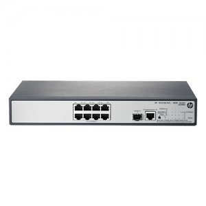 HPE - IMSourcing Certified Pre-Owned (65W) Switch - Refurbished JG349A#ABA-RF 1910-8G-PoE+