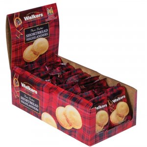 Office Snax Shortbread Highlanders Cookies W1177D OFXW1177D