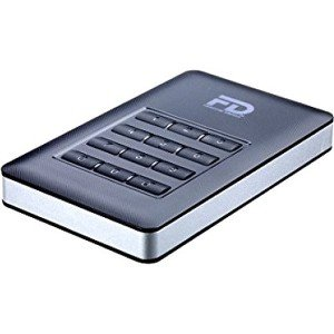Fantom Drives DataShield SSD AES Hardware Encrypted Portable External Solid State Drive DSS2000