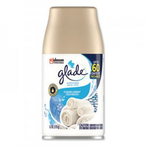 Glade Automatic Air Freshener, Clean Linen, 6.2 oz SJN616415EA 616415