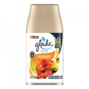 Glade Automatic Air Freshener, Hawaiian Breeze, 6.2 oz, 6/Carton SJN616419 616419