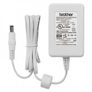 Brother P-Touch AC Adapter For P-Touch Label Makers, White BRTAD24ESAW AD24ESAW