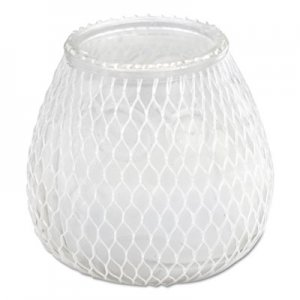 Sterno Euro-Venetian Filled Glass Candles, 60 Hour Burn, Frost White, 12/Carton STE40124 STE 40124