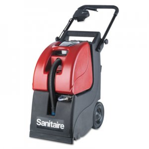 Electrolux Sanitaire Butler 3-Gallon Carpet Extractor 6092A, 3.5 gal Tank, Red/Black, 35 ft Cord EUR6092A EUR 6092A