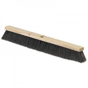 "Carlisle Fine/Medium Floor Sweeps, Black, 36"" x 3"", Polypropylene CFS4507403 FLO 4507403"