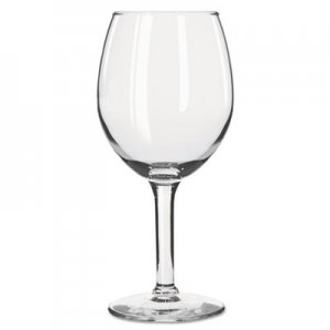 Libbey Citation Glasses, 11 oz, Clear, White Wine Glass, 24/Carton LIB8472 10031009370150