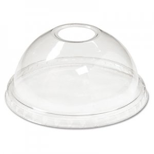 Boardwalk Cold Cup Dome Lids, 12-24oz Cups, Clear, 75/Sleeve, 12 Sleeves/Carton BWKYPDL24C YPDL24C