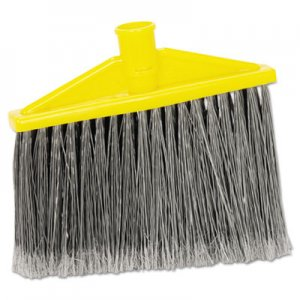 "Rubbermaid Commercial Replacement Broom Head, 10 1/2"", 12/Carton RCP6397CT FG639700GRAY"