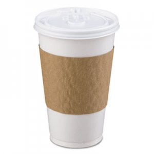 LBP The Sleeve Hot Cup Sleeve for 10-20 oz Cups, Paperboard, Brown, 1200/Carton LBP6000 LBP 6000