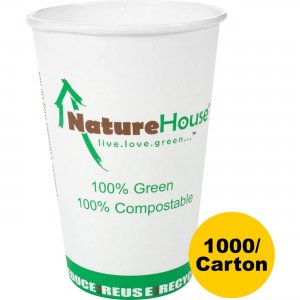 NatureHouse Compostable Paper/PLA Cup C008CT SVAC008CT