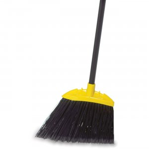 Rubbermaid Commercial Jumbo Smooth Sweep Angle Broom FG638906B RCPFG638906B