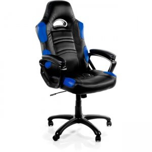 Arozzi Enzo Racing Style Gaming Chair, Blue ENZO-BL