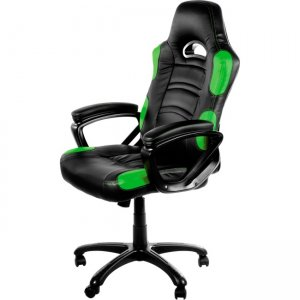 Arozzi Enzo Racing Style Gaming Chair, Green ENZO-GN