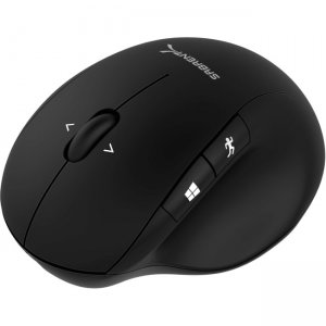 Sabrent Ergonomic 2.4GHz Wireless Rechargeable Mouse with 4D Function MS-WRCH-PK50 MS-WRCH