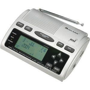 Midland Clock Radio WR-300