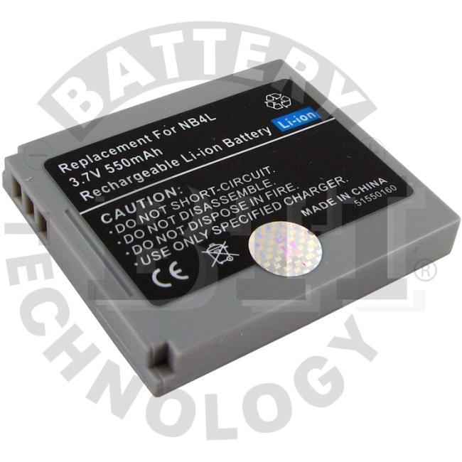 BTI Lithium Ion Digital Camera Battery BTI-CNNB4L