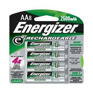 Energizer AA Nickel Metal Hydride Battery NH15BP-8