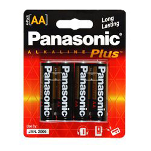 Panasonic AA-Size General Purpose Battery Pack AM-3PA/4B