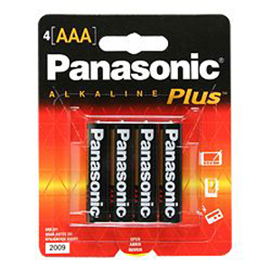 Panasonic AAA-Size General Purpose Battery Pack AM-4PA/4B