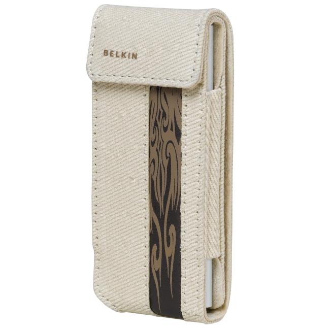 Belkin Canvas Flip Case for iPod nano 2G F8Z128-BT