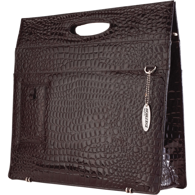 Mobile Edge Ladies Briefcase - Espresso Faux-Croc METBC8