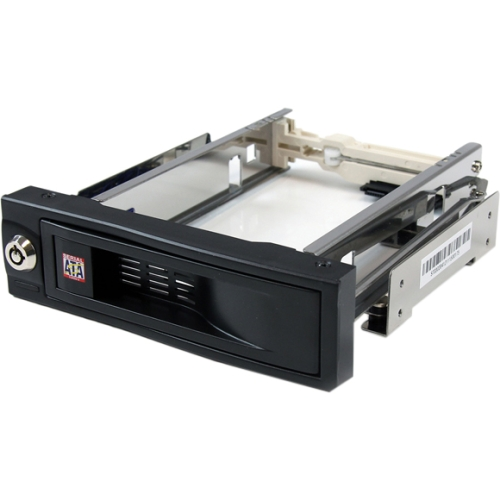"StarTech.com 5.25"" Tray-Less SATA Hot-Swap Hard Drive Bay HSB100SATBK"