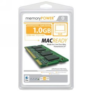 Centon 1GB DDR2 SDRAM Memory Module 1GBS/D2-667