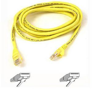 Belkin Cat5e Patch Cable A3L791-20-YLW-S