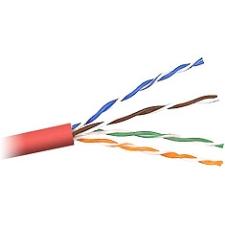 Belkin Cat. 5E UTP Plenum Bulk Cable A7L504-1000-P-R