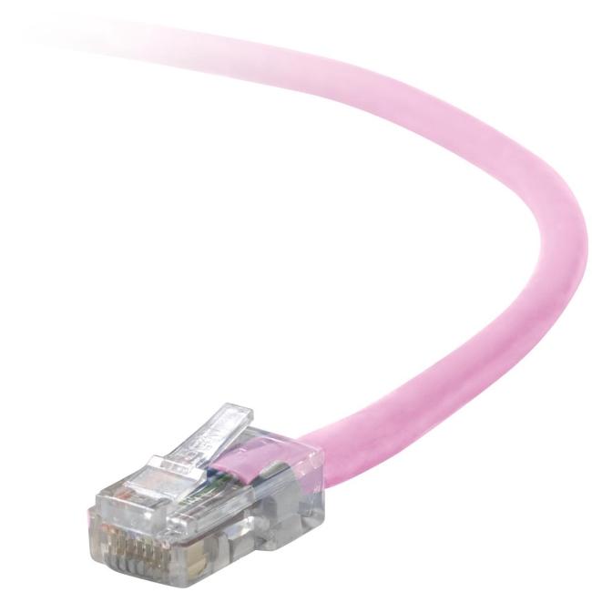 Belkin Cat. 5E UTP Patch Cable A3L791-03-PNK-S