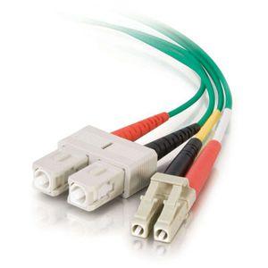 C2G Fiber Optic Duplex Patch Cable - Plenum Rated 37551