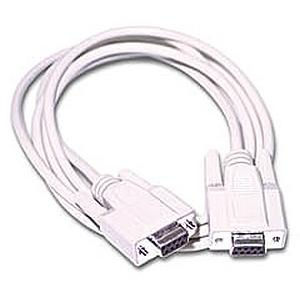 C2G DB9 Extension Cable 02695
