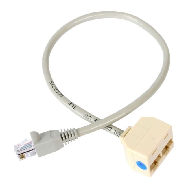 StarTech.com 2-to-1 RJ45 Splitter Cable Adapter - F/M RJ45SPLITTER