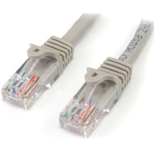 StarTech.com 50ft Gray Cat5e UTP Patch Cable 45PATCH50GR