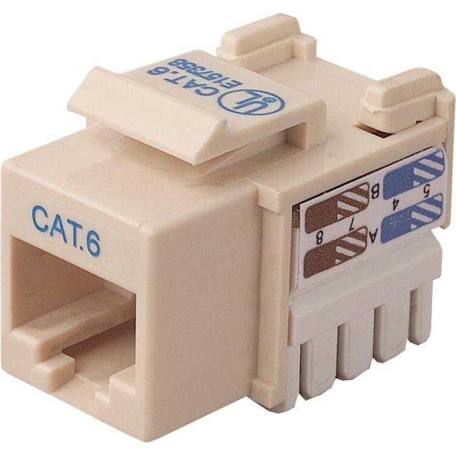 Belkin Cat. 6 Keystone Jack R6D026-AB6-IVO