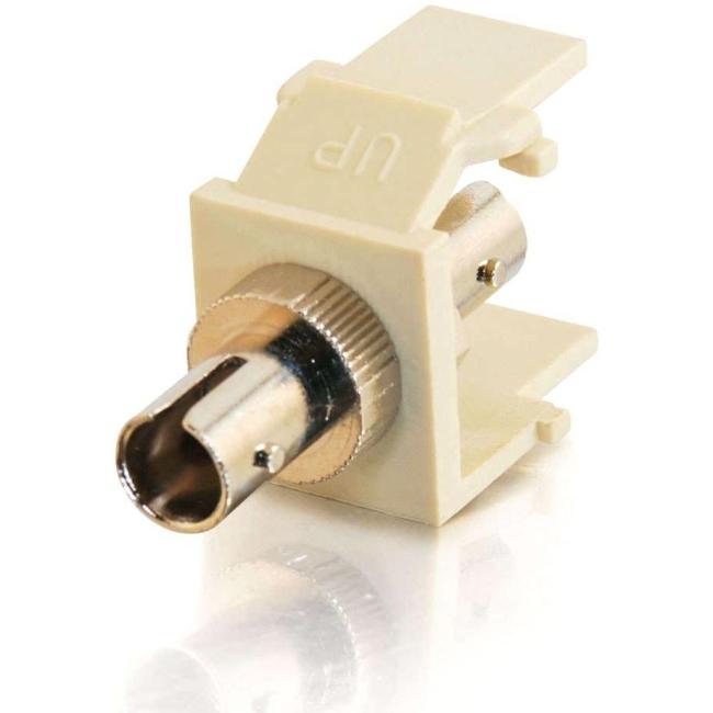 C2G Snap-In ST Fiber Keystone Module 03815