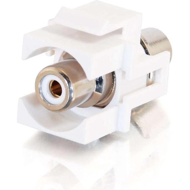 C2G Keystone Snap-in RCA Jack 03822