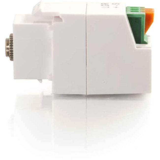 C2G 3.5mm Keystone Adapter (3 Conductor) 37036